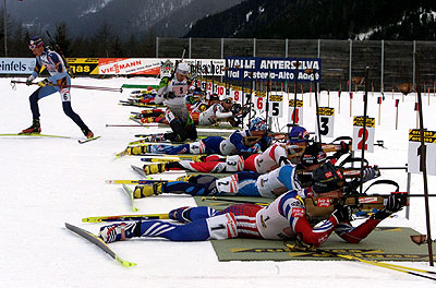 Winter 2018 Olympics: Biathlon