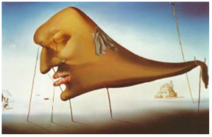 """Sleep"" by Salvador Dali"