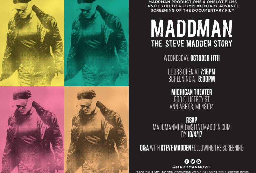 5ebcf654957 Preview  Maddman  The Steve Madden Story –  art seen