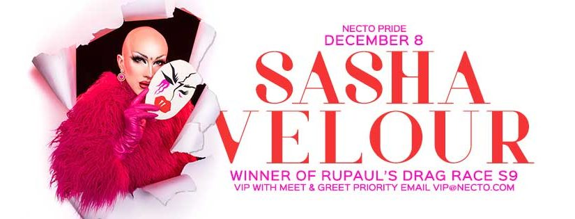 PREVIEW: Sasha Velour at Necto