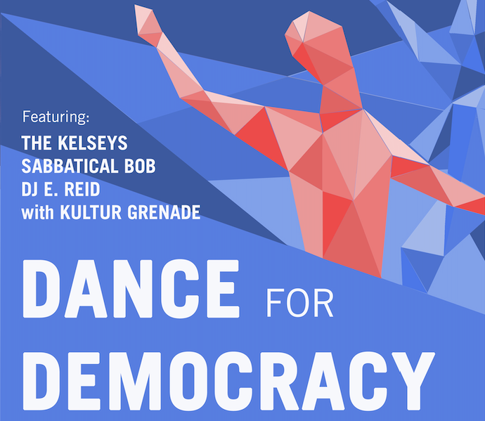 Dance for Democracy event poster